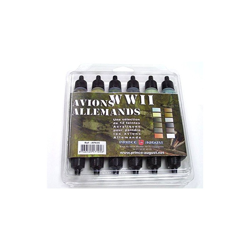 Pack WWII Avions Allemands Aero