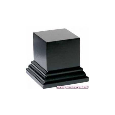 Socle carré 5x5x4 cm  Noir