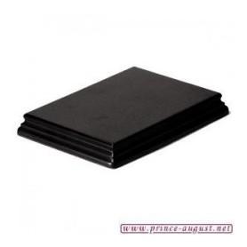 Socle  Rectangulaire 17x12x2,5 Noir