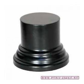 Socle rond  5x4x3 cm Noir
