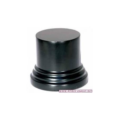 Socle rond 6x4x4 cm  Noir