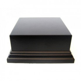 Socle rectangulaire 40mm 25X15 Noir