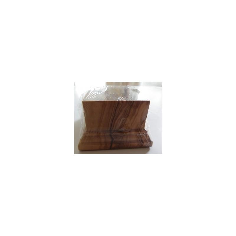 Socle Olivier carré 50mm 6X6