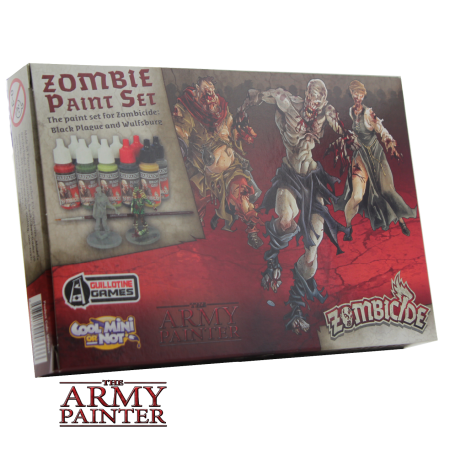 Zombicide: Black Plague Paint Set, par Army Painter