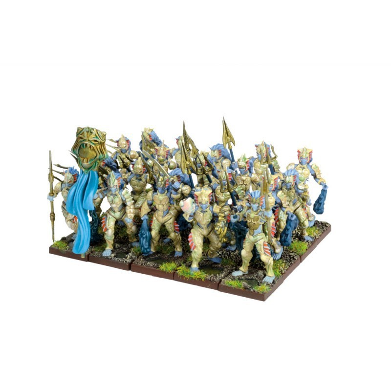 Régiment de naïades (20 figurines)