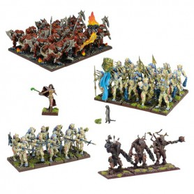 Armée Forces de la Nature (54 figurines)