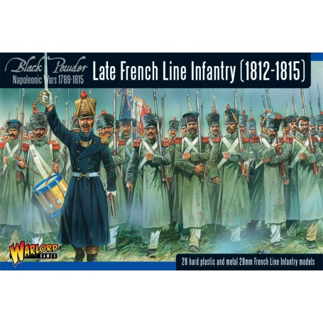 Napoleonic Late French Line Infantry (1812-1815) Revised