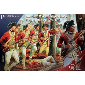American War of Independence British Infantry 1775-1783