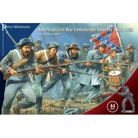 American Civil War Confederate Infantry