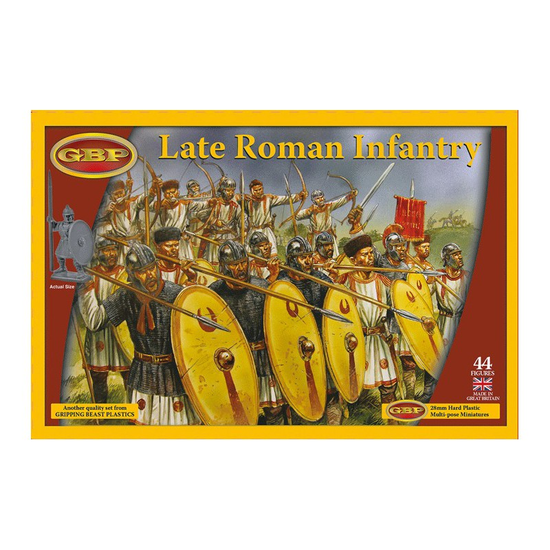 Late Roman Infantry (plastic) (44), Saga