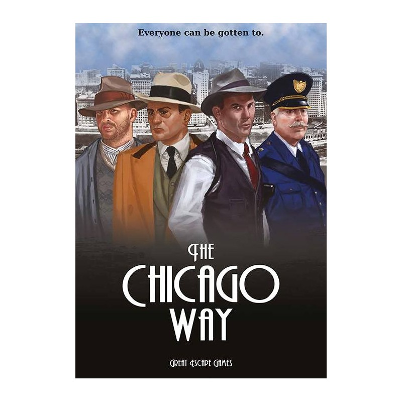 The Chicago Way Rule Book (includes TCW card deck) (Anglais) produit par GREAT ESCAPE GAME