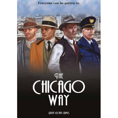 The Chicago Way Rule Book (includes TCW card deck) (Anglais)
