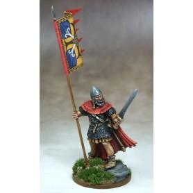 Bannière de Guerre Scot (une figurine et sa bannière)