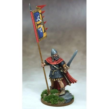 Bannière de Guerre Scot (une figurine et sa bannière), Saga, Viking age