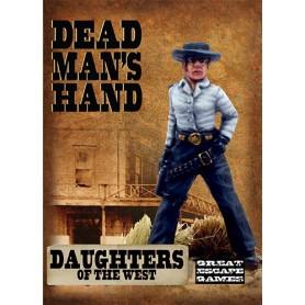 Bande des Filles de l'Ouest (inclut les 4 cartes spécifiques à la bande), Dead Man's hand, par Great Escape Games