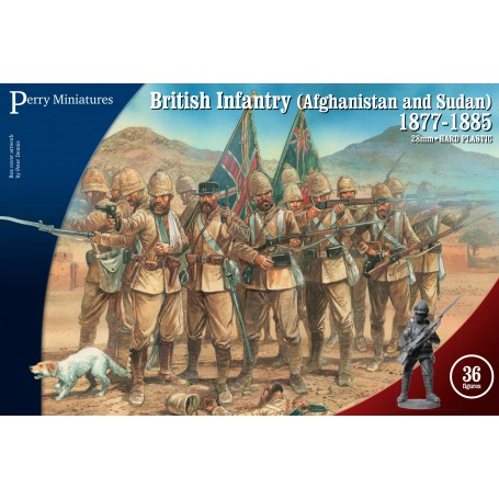 British Infantry (Afghanistan and Sudan) 1877-1885, Perry Miniatures