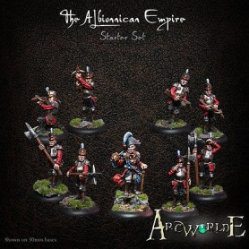 The Albionnican Empire starter set, Arc Worlde, Par Warploque Miniatures