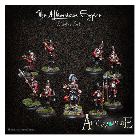 The Albionnican Empire starter set