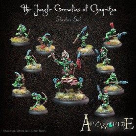 The jungle gremlins of Chaq-Itza starter set
