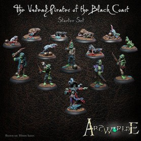 The undead pirates of the black coast starter set