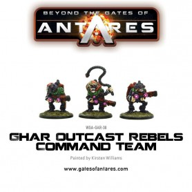 Ghar Outcast Rebels Command Team (3 Models)