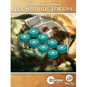Guild Ball Icy sponge Status Tokens