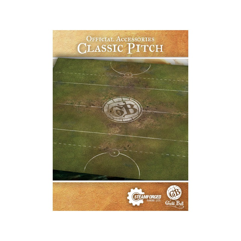 Guild Ball Play Mat: Classic Pitch Multiples of 4 only