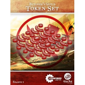 Butcher's Token Set