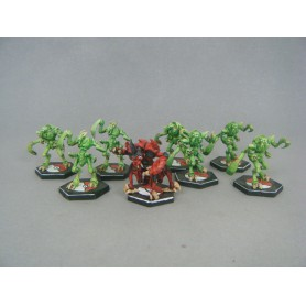 équipe de cafards dreadball pro-painted ideal fan de pokemon