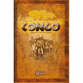 Congo, le livre de règles (inclus les cartes et les pions)