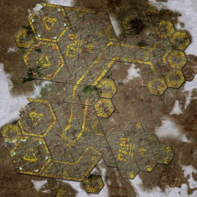War Game Mat - 48x48inch - US Ariadna