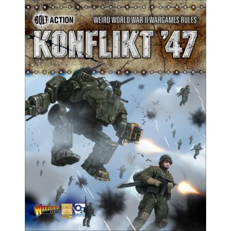 Konflikt '47 Rulebook (anglais)