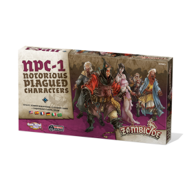 Zombicide Black Plague : Notorious Plagued Characters