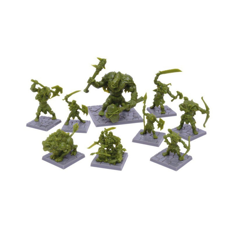 Figurines de la Rage Verte, Dungeon Saga par Mantic