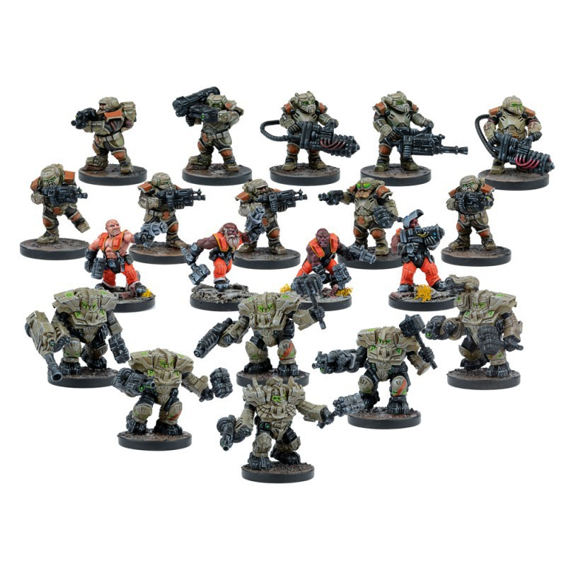 Forge fathers, force de démarrage (20 figurines)