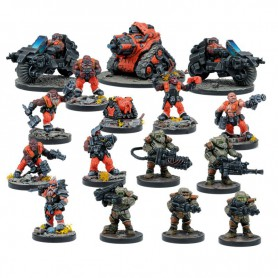 Forge fathers, extension de faction (16 figurines)