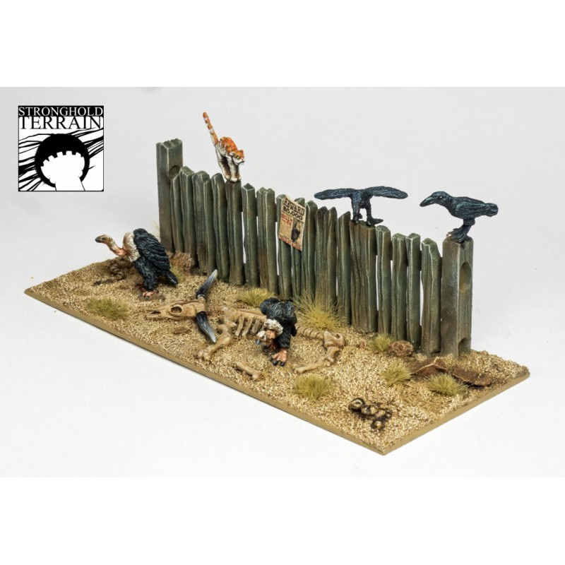 Dead Man'S Hand - Western Animal Set, par Stronghold terrain
