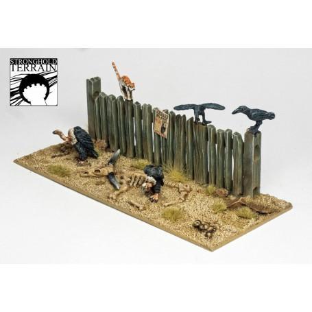Dead Man'S Hand - Western Animal Set, par Stronghold terrain