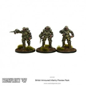 British Armoured Infantry Preview Pack