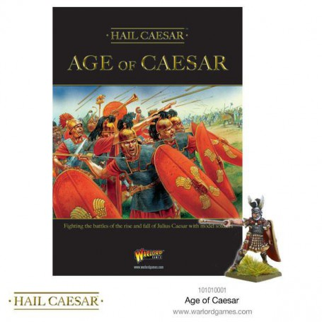 Age of Caesar - Hail Caesar supplement + fig exclusive