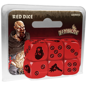 Zombicide Black Plague : Red Dice