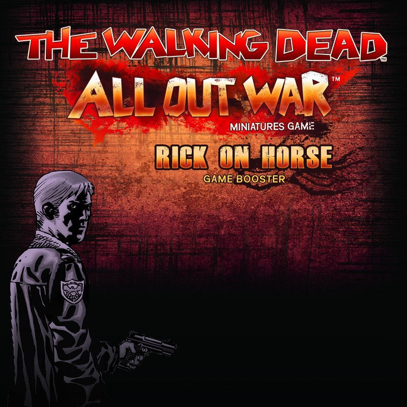 The Walking Dead, Booster Rick à cheval