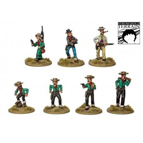 Bande de Hors-la-loi bien connus… (7 figurines)