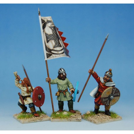 Early Saxon Infantry Command