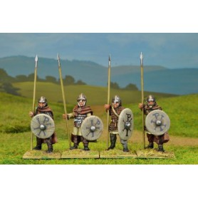 Arthurian Armoured Spearmen