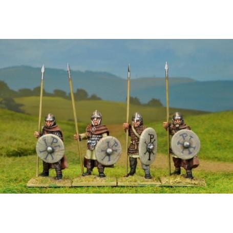 Arthurian Armoured Spearmen