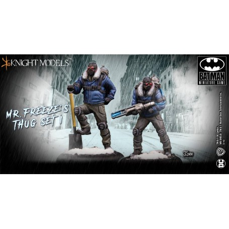 MR FREEZE THUG SET I