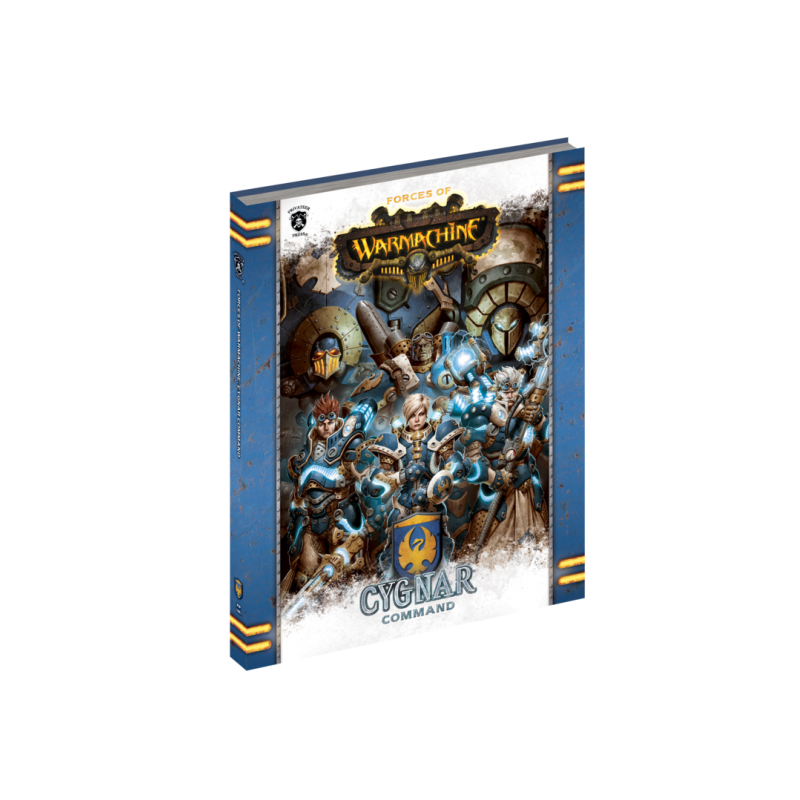 Cygnar Command en anglais (Soft cover)