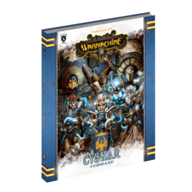Cygnar Command en anglais (Hard cover)