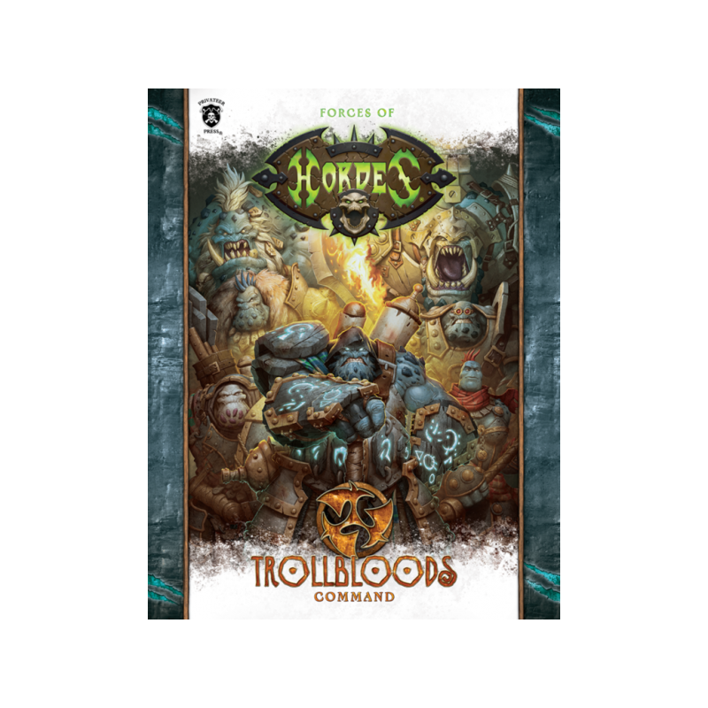Trollbloods Command en anglais (Soft cover)